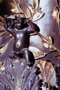 Bernini, Baldacchino (detail)