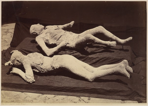 Giorgio Sommer, Pompeii Victims  1875